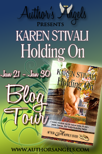 Holding On by Karen Stivali – Guest Post/Review/Giveaway