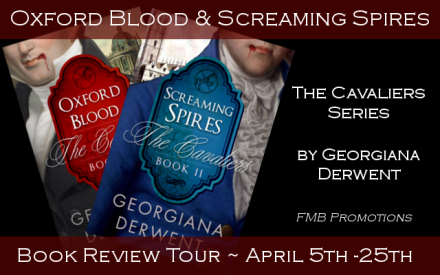 Oxford Blood & Screaming Spires Review Tour Banner
