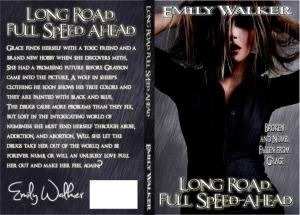 Cover Reveal for Long Road, Full Speed Ahead by Emily Walker
