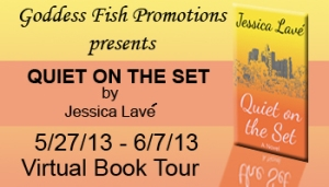 Quiet On The Set by Jessica Lave – Review/Excerpt/Giveaway