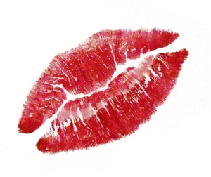 Kiss Me in Paris Title Lips