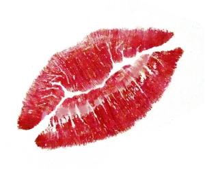 Kiss Me in Paris Title Lips