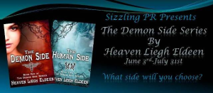 The Demon Side Series by Heaven Liegh Eldeen – Book Blast/Excerpts