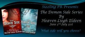 The Demon Side Series by Heaven Liegh Eldeen – BookBlast/Excerpts
