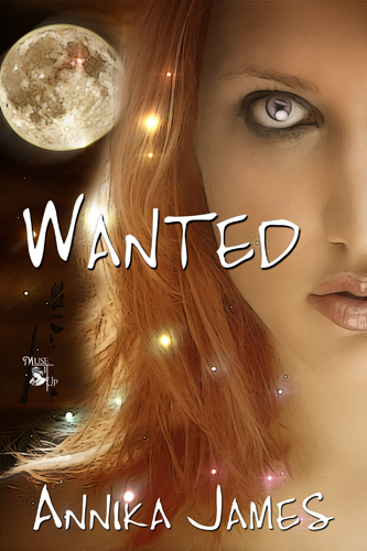 Wanted ~ Annika James ~ Cover