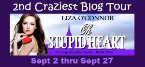 Review & Blog Tour of Oh Stupid Heart by Liza O'Connor w/excerpt & giveaway