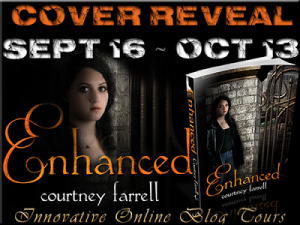 Cover Reveal for Enhanced by Courtney Farrell