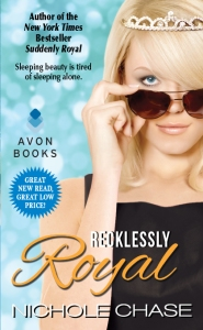 Cover Reveal for Recklessly Royal by Nichole Chase