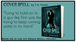 Release Day Blitz for Cover Spell by T.A. Foster