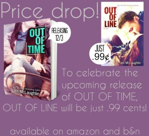 Cover Reveal for Out of Time by Jen McLaughlin w/giveaway