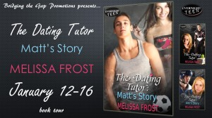 Top Ten List w/Melissa Frost featuring The Dating Tutor:  Matt's Story w/a $10 GC rafflecopter giveaway!