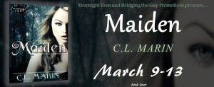 Excerpt from Maiden (Tomes of the Authentic Witch #1) & Top Ten list from C.L. Marin w/a GC giveaway!