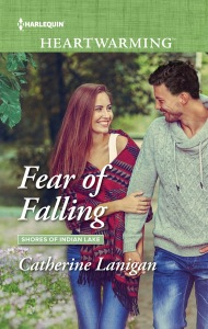 Cover Reveal for Fear of Falling (Shores of Indian Lake #5) by Catherine Lanigan w/a rafflecopter #Giveaway @Cathlanigan #Harlequin