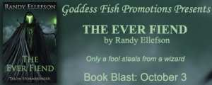 Book Blast featuring The Ever Fiend by Randy Ellefson w/a rafflecopter giveaway!